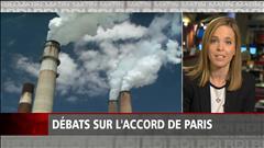Débats sur l'accord de Paris