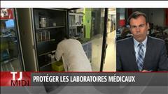 Protéger les laboratoires médicaux