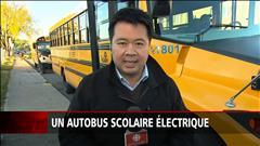 Un autobus scolaire électrique