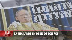La Thaïlande en deuil de son roi