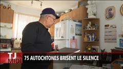 Des dizaines d'Autochtones brisent le silence