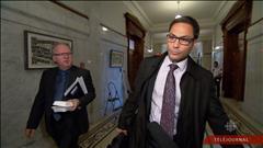 Le député Gerry Sklavounos s'est retiré du caucus du PLQ dans la foulée de l'allégation d'agression sexuelle qui pèse contre lui