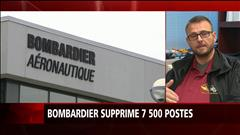 Suppression de postes chez Bombardier : le syndicat réagit