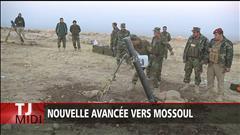 Nouvelle avancée vers Mossoul
