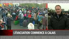 L'évacuation de la « jungle » commence à Calais