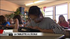 La tablette en classe : un succès à Sainte-Julie