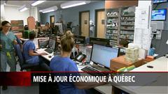 Mise à jour économique à Québec