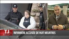 Infirmière accusée de huit meurtres