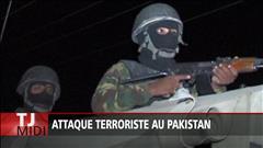 Attaque terroriste au Pakistan