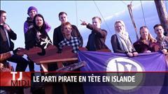 Le Parti pirate en tête en Islande