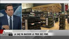La SAQ baissera le prix de ses vins