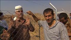 Retrouvailles de déplacés en Irak