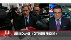 Libre-échange : « optimisme prudent »