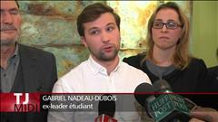 Victoire de Gabriel Nadeau-Dubois en Cour suprême