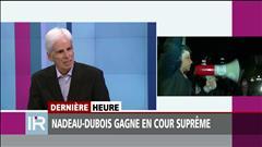Gabriel Nadeau-Dubois acquitté