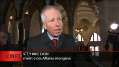 Intervention du ministre des Affaires étrangères du Canada sur la situation à Alep