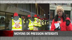 Moyens de pression interdits pour les policiers de Laval