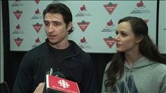 Entrevue avec Tessa Virtue et Scott Moir avant les Championnats canadiens de patinage (en anglais)