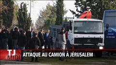 Attaque au camion à Jérusalem
