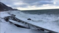 La Gaspésie frappée par les eaux