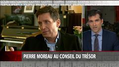 Pierre Moreau au Conseil du Trésor
