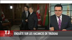 Enquête sur les vacances de Trudeau