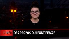 Réactions aux propos de Rambo Gauthier