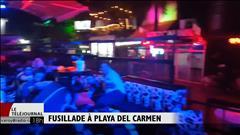 Fusillade à Playa del Carmen