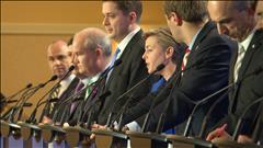 Ces Québécois qui veulent diriger le Parti conservateur