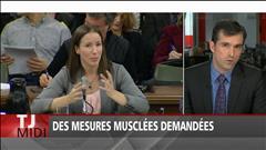 Des mesures musclées demandées