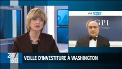 VEILLE D'INVESTITURE À WASHINGTON