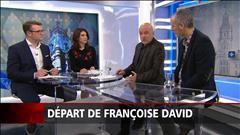 Départ de Françoise David