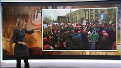 Rassemblement des femmes contre Donald Trump