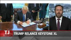 Trump relance les projets d'oléoducs Keystone XL et Dakota Access