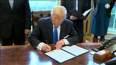 Trump relance deux projets de pipelines
