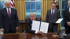 L'administration Trump : un cabinet d'hommes blancs