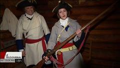 Caroline Touchette apprend comment devenir un soldat de la Compagnie de La Vérendrye