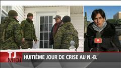 Huitème jour de crise au Nouveau-Brunswick