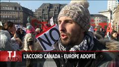 L'accord Europe-Canada adopté