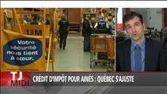 Crédit d'impôt pour aînés : Québec s'ajuste