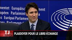 Plaidoyer de Trudeau pour le libre-échange