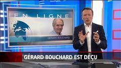 Entrevue : Gérard Bouchard se dit déçu