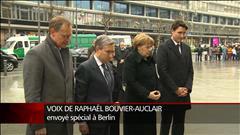 Justin Trudeau rencontre Angela Merkel