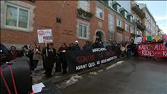 Manifestation contre le racisme à Québec