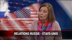 La relation entre les États-Unis et la Russie