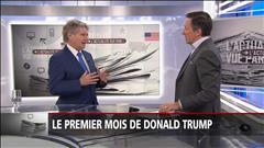 Le premier mois de Donald Trump