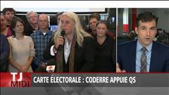 Carte électorale : Coderre appuie Québec solidaire