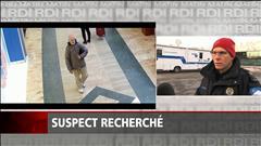 Suspect recherché à Montréal