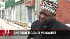 Une autre mosquée vandalisée à Montréal