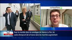 Marine Le Pen inquiète les marchés